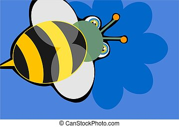bumble bee - simple but bold design