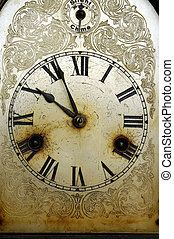 Dirty Old Clock