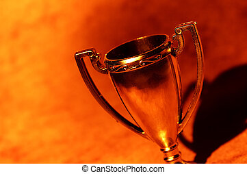 Trophy Cup - Abstract Trophy Cup