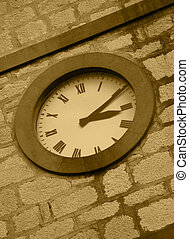 Church Clock - Old Church Clock