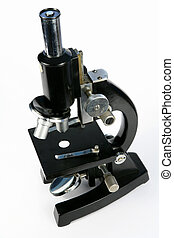 Microscope 4 - A mid-late 20th century microscope of the...