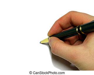 Write - Pen in hand