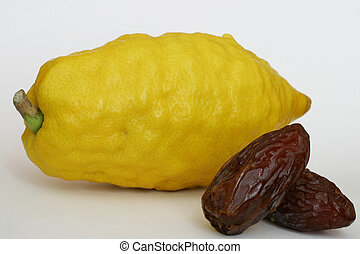 Jewish Citron and dates - Citron dates