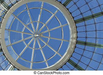 Futuristic dome details