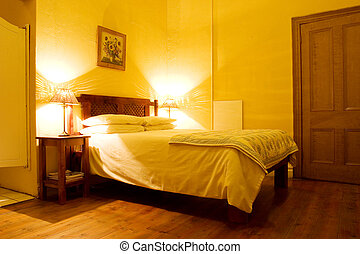 interior 1 - Interior of room with wooden floors