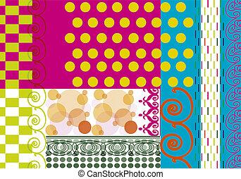 pop60 - a pop multicolour background