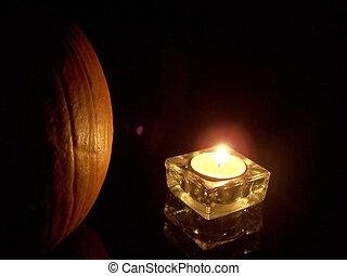 Light - Illuminated pumpkin