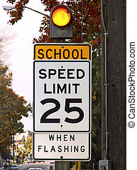 school speed limit