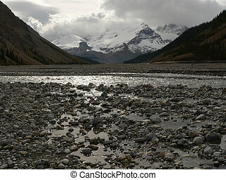 Rocks, River, and Ice - Glaciers, mountains, and the...