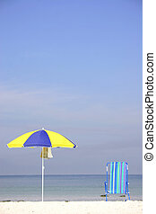 Umbrella Deckchair - Umbrella and Deckchair