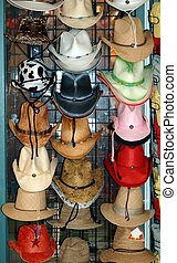 Hats For Sale - Photographed hats for sale at a local...