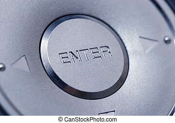 Enter - A big silver enter button