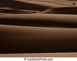 Desert - The view in Xinjiang,China