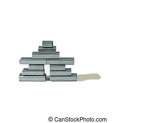 staple-inukshuk - inukshuk made out of staples
