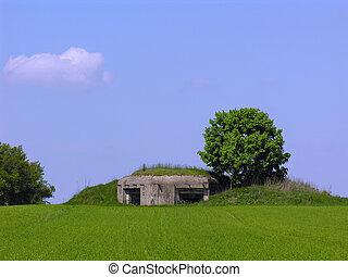 Bunker hill - World War II bunker