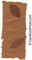 marrón, luz, hojas,  -, textura, serie