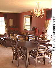 Dining Room - Dining room and family room