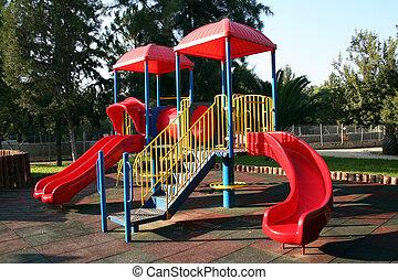 At the Playground ..