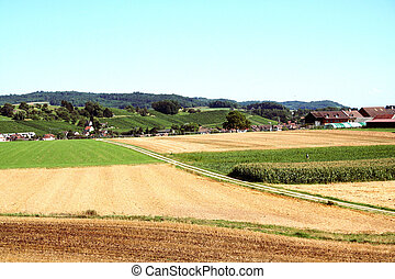 Agricultural Land. Switzerland