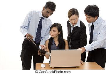 empresa / negocio, equipo, 3
