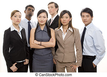 Serious Business Team - A young, dynamic and diverse group...