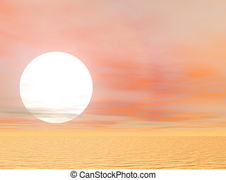 Bright Desert Sun - Brilliant desert sun