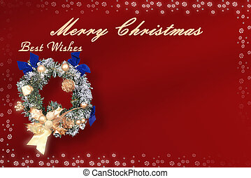 Merry Christmas Card - Christmas card with space for wishes....
