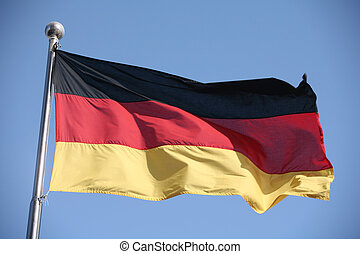 German flag - The German national flag