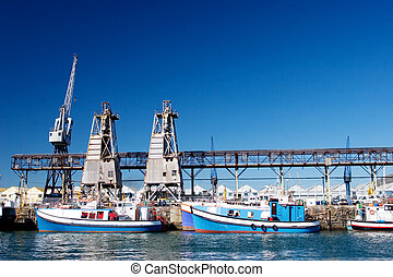 harbour #18 - Boats at Cape Town Harbour, South Africa