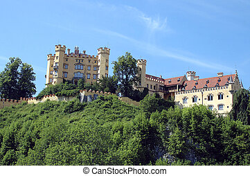 Hohenschwangau - Castle of Hohenschwangau, Bavaria, Germany