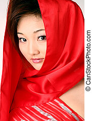 Red imagination - Chinese bride
