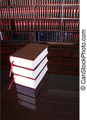 Legal books 18 - Legal books on table - South African Law...