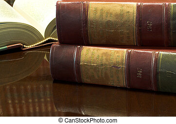 Legal books #26 - Legal books on table - South African Law...