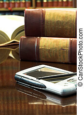 Legal books #28 - Legal books on table - South African Law...
