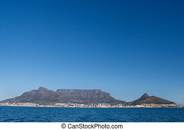 mountain 1 - Table mountain and the VA waterfornt - Cape...