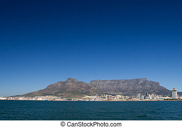 mountain #2 - Table mountain and the VA waterfornt - Cape...