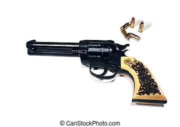wheel gun - cowboy action old-style revolver