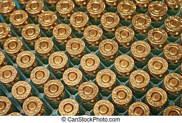 45 loads - 45 handloaded bullets