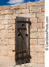 Jail House Door