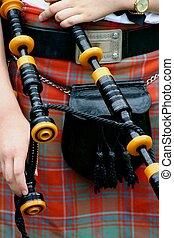 escocés, Falda escocesa, pi