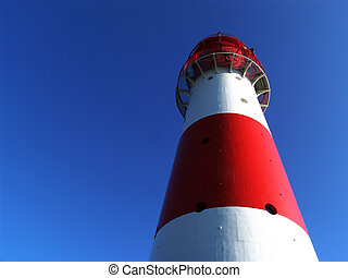 lighthouse - falshoeft lighthouse, northern germany