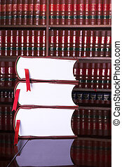 Legal books 17 - Legal books on table - South African Law...