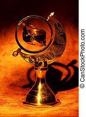 Gimball Compass - Brass Gimbal Compass