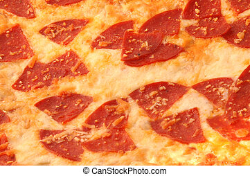 brick oven pizza macro - italian style pepperoni pizza full...