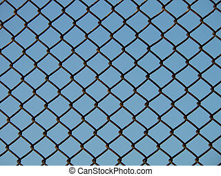 Chain link fence - Section of chain link fence