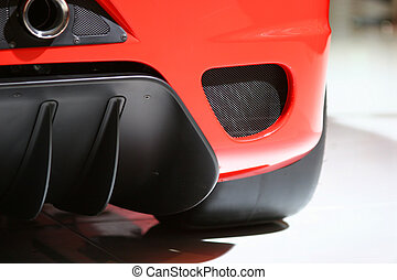 Ferrari F430 Challenge Detail - New racing Ferrari F430...