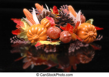 Fall Table Decoration - Fall decoration for table
