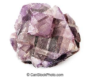 Purple crystal - Fluorite Crystal Purple