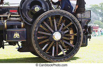 steam engine wheels - details of steam engine wheels