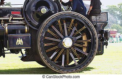 steam engine wheels - details of steam engine wheels